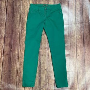 Elle Green Skinny Jeans